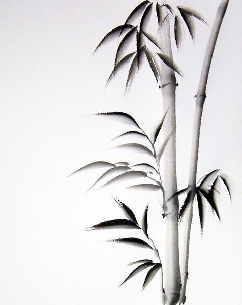 Bamboo Art Design : Sumi paintings